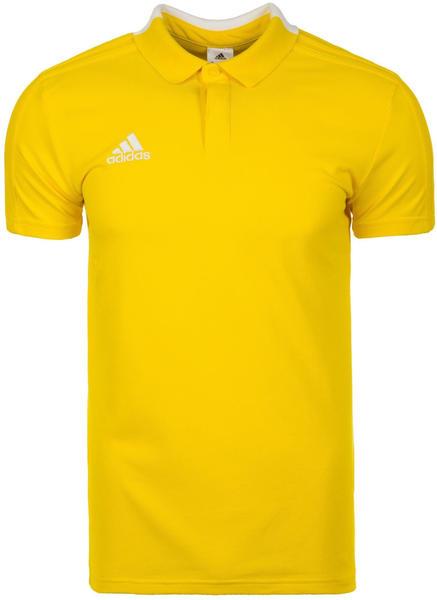 Adidas Condivo 18 Poloshirt (CF4378) yellow/white