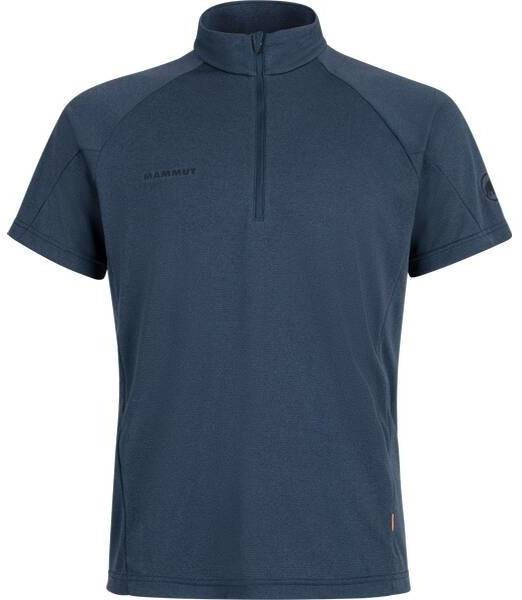 Mammut Aegility Half Zip T-Shirt marine melange