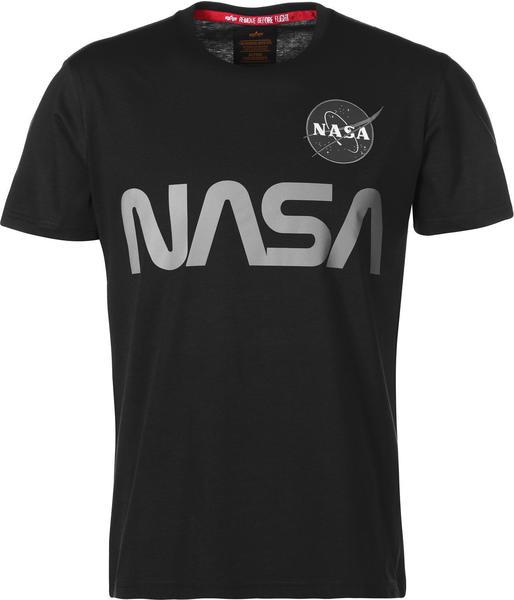 Alpha Industries NASA Reflective T-Shirt black (178501-03)