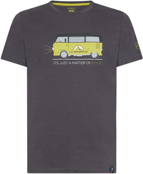 La Sportiva Van T-Shirt Men carbon/kiwi