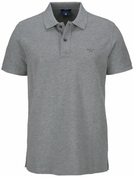GANT Bestseller Piqué Polo Shirt (2201) grey melange
