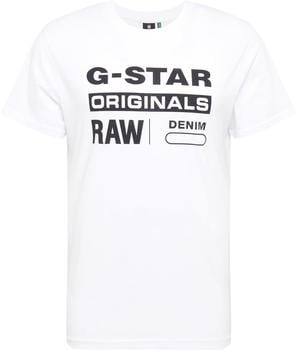 G-Star Graphic 8 T-Shirt white