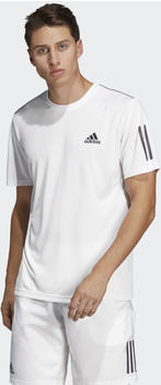 Adidas 3-Streifen Club T-Shirt white/black (DP2875)