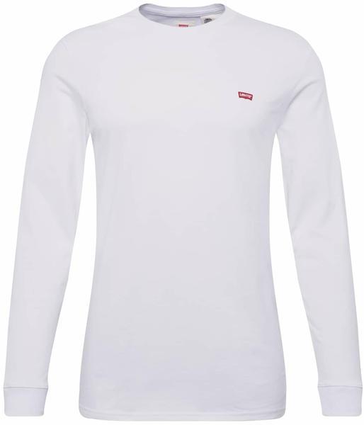 Levi's Long Sleeve Original Logo Tee patch white