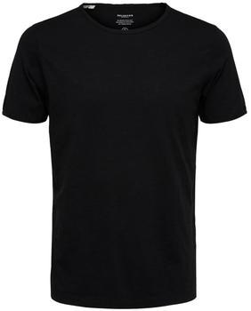 Selected Crew Neck T-Shirt (16071775) black