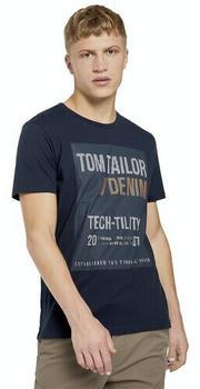Tom Tailor Denim Herren-Shirts (1021285) sky captain blue
