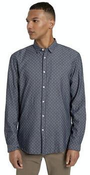Tom Tailor Denim Herren-Shirts (1020174) navy stripy rhombus print