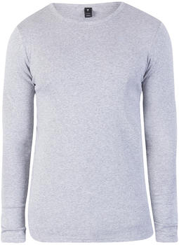 G-Star Base Ribbed Neck Tee L/S (D07204-124) grey heather