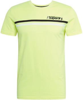 Superdry Core Logo Sport Stripe (M1010097A) neon yellow