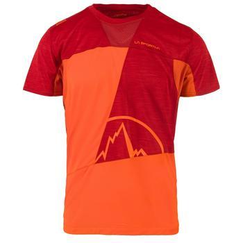 la-sportiva-workout-t-shirt-men-pumpkin-chili