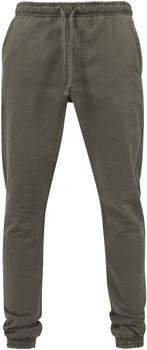 Urban Classics Washed Canvas Jogging Pants olive (TB1434-176)