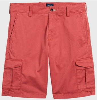 GANT Twill Utility Shorts mineral red (20018-640)