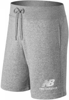 New Balance Essentials Stacked Logo Short athletic grey