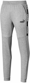 Puma Amplified Fleece Sweatpants medium grey heather