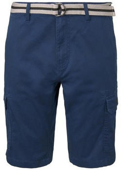 Tom Tailor Shorts blue minimal structure check (1016281)