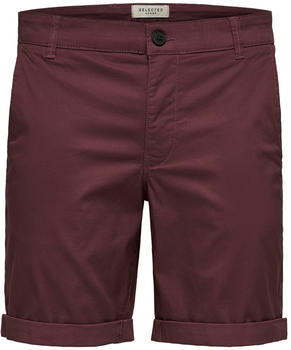 Selected Paris Regular Fit Shorts wild ginger