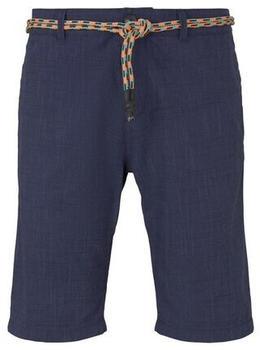 Tom Tailor Denim Herrenhose (1016962) navy slubby summer yarn dye