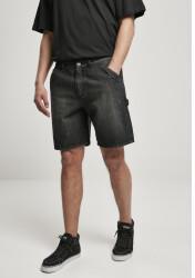 Urban Classics Carpenter Jeans Shorts (TB4415-02296-0006) real black washed