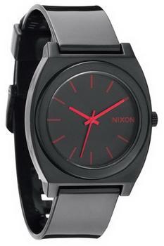 Nixon The Time Teller P Black / Bright Pink