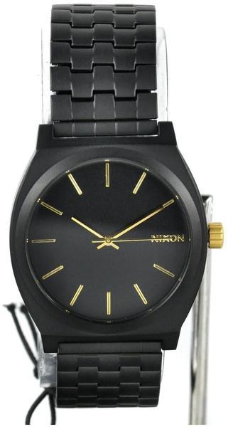 Nixon The Time Teller Matte Black/Gold