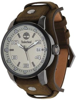 Timberland Herren Uhr Armbanduhr Leder Analog TBL.14337JSUB/61