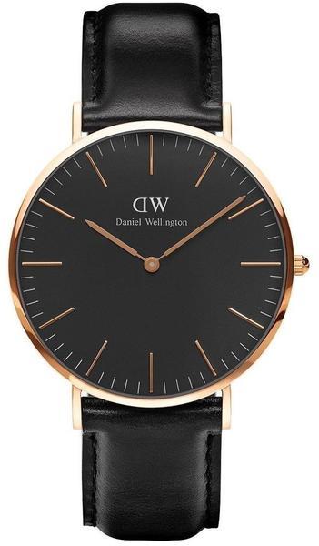 Daniel Wellington Classic Black Sheffield 40 mm (DW00100127)