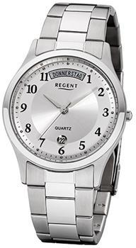 Regent Uhr - Herrenuhr mit Datum und Wochentag - F1042