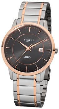 Regent Uhr - flache Herrenuhr mit Saphirglas - F1047
