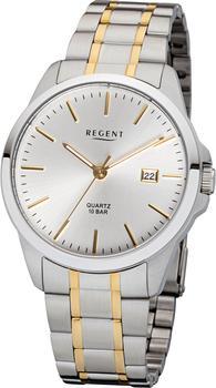 REGENT Uhr - Herrenuhr bicolor mit Datum - F1013