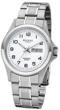 Regent Uhr - Herrenuhr mit Saphirglas 20 Bar - F1040