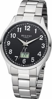 Regent Funkuhr 11030154-FR231 silberfarben
