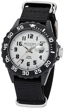 Regent Uhr - Kunststoff Jugenduhr mit Datum - F1121