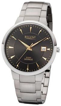 REGENT Uhr - Titan Herrenuhr mit Saphirglas - F1116