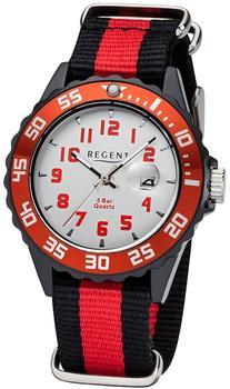 Regent Uhr - Kunststoff Jugenduhr mit Datum - F1122