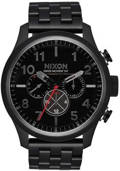 Nixon The Kensington Leather All Black