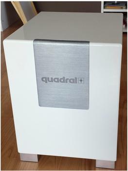 Quadral Qube 8 Aktiv weiß