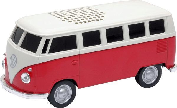 Autodrive 1963 Volkswagen T1 Bus Bluetooth Speaker rot