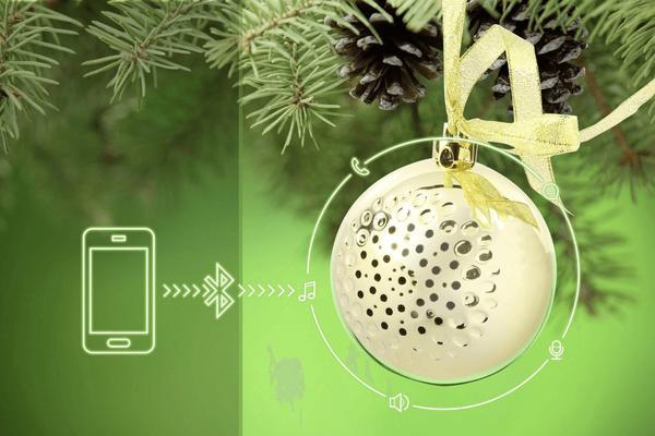 Technaxx Christmas Speaker gold