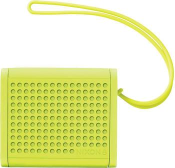 nixon-mini-blaster-neon-green