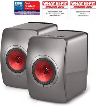 kef-ls50-wireless-titan-grau-rot
