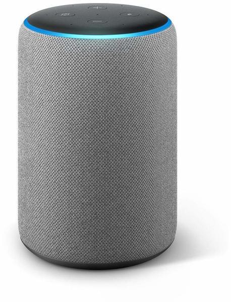 Amazon Echo Plus (2. Generation) Hellgrau Stoff