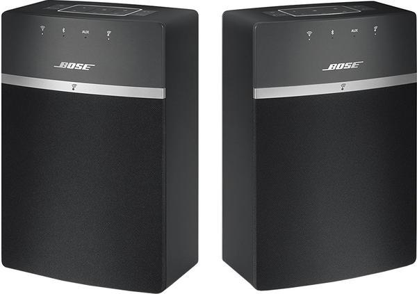 Bose SoundTouch 10 x 2 Wireless Starterpaket schwarz