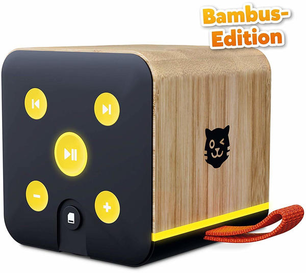 Tiger Media Tigerbox - schwarz Bambus-Edition
