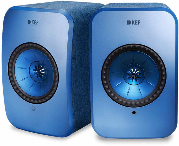 KEF LSX blau