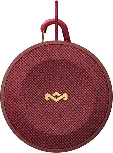 The House of Marley No Bounds Waterproof Bluetooth Speaker Red