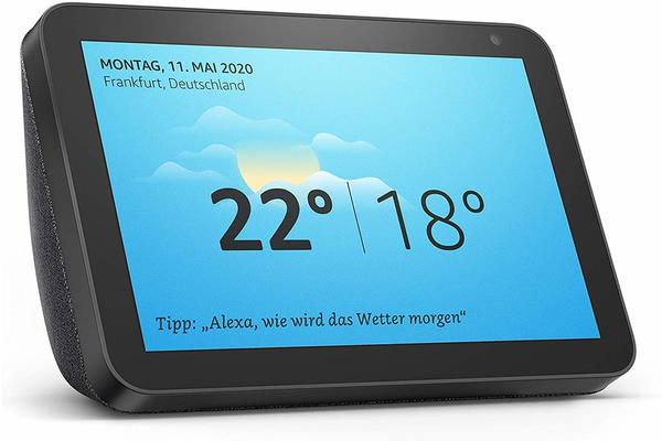 Amazon Echo Show 8 Anthrazit Stoff