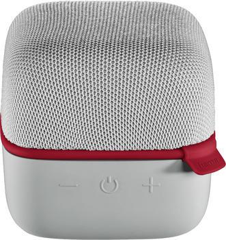 Hama Mobiler Bluetooth-Lautsprecher Cube grau