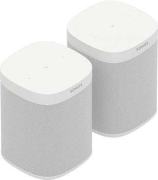 Sonos One SL 2 Room Starter Set weiß