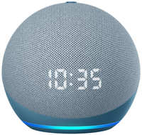 Amazon Echo Dot (4th Gen) Blue/Grey with LED-Display