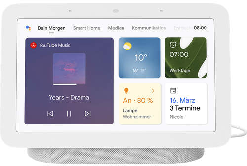 Google Nest Hub (2nd Gen) Chalk